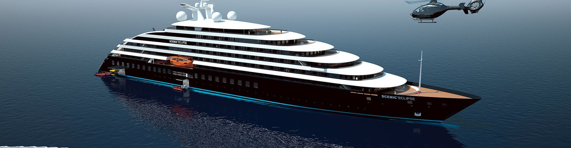 Scenic Offers New Details on the World's First Discovery Yacht – Scenic Eclipse